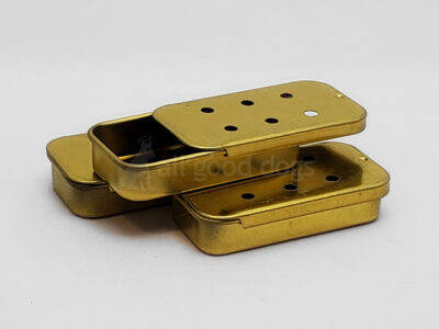 "1/4 Oz ""Slide"" Tin (Gold)"